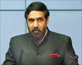 Union Minister for Commerce and Industry Anand Sharma.