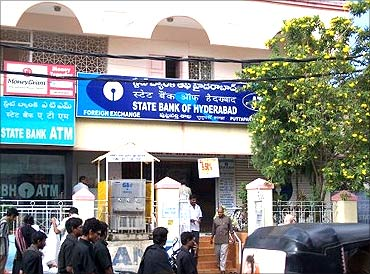 State Bank of Hyderabad.