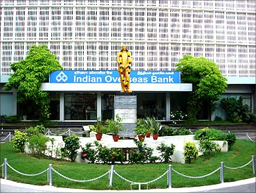 Indian Overseas Bank.