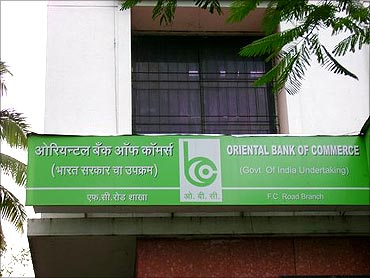 Oriental Bank of Commerce.