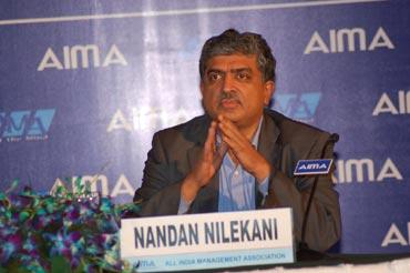UIDAI chairman Nandan Nilekani.
