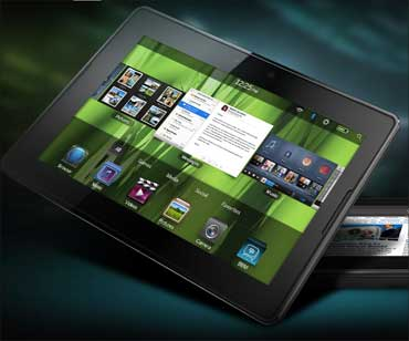 A Blackberry PlayBook.