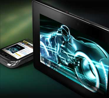The stunning BlackBerry PlayBook launched!