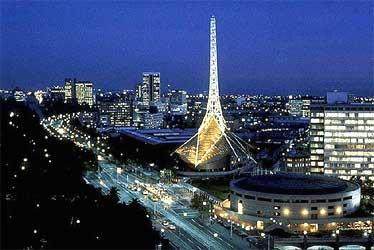 Melbourne skyline, Australia.