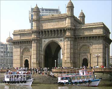 The Gateway of India, Mumbai, India.