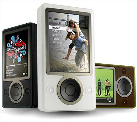 Microsoft Zune.