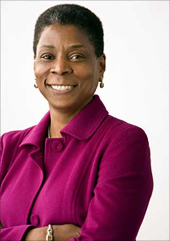Ursula M Burns.