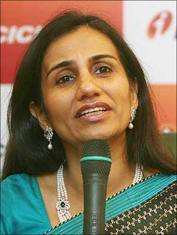 ICICI Bank managing director and CEO Chanda Kochhar.