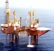 ONGC oil rig