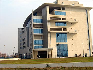 IT park in Delhi.