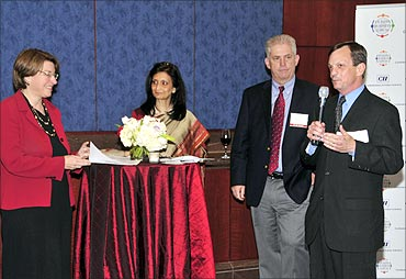 Dave Riggan, Sr Vice-President and CFO, Essar Minerals Americas.