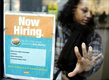 Companies plan to recruit workers over next three months.