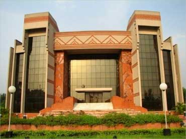 IIM Calcutta auditorium.