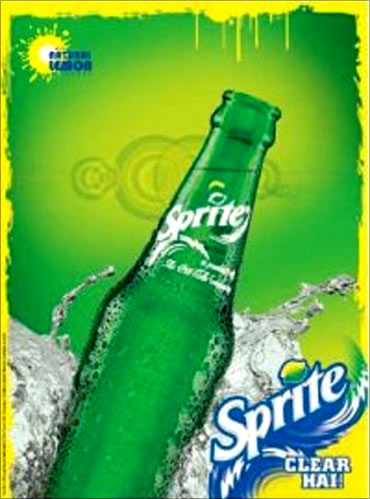 Sprite tops the list.