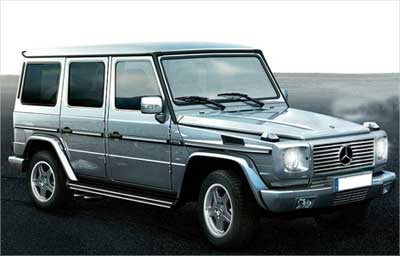 Mercedes Benz G-Wagen.