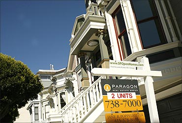 A pair of housing units are shown for sale in San Francisco.