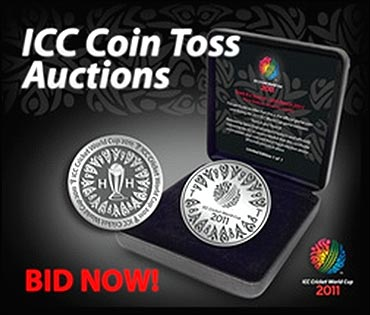 ICC to sell toss coins.