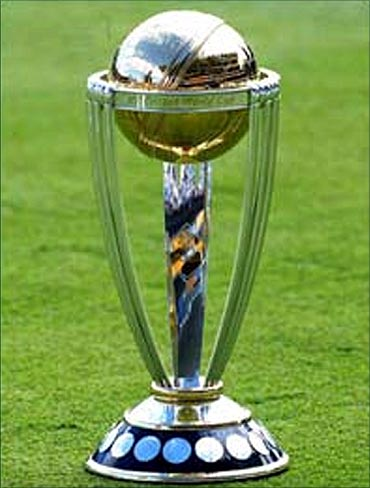 ICC WC trophy.