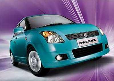 Maruti Swift diesel.