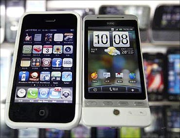 India will have four million smartphones in two years.