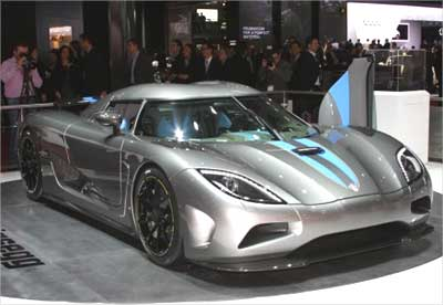 Swedish super luxury sports car Koenigsegg will cost Rs 12.5 crore in India.