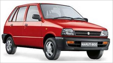 Maruti Suzuki 800.