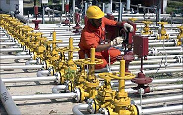 Government to dilute its stake in ONGC.