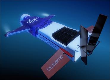 Necker Nymph, Virgin Oceanic's solo-piloted 'flying' mini-submarine.
