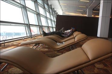 T3 terminal lounge.