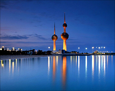 Kuwait's oil reserves are the fourth-largest in the world.