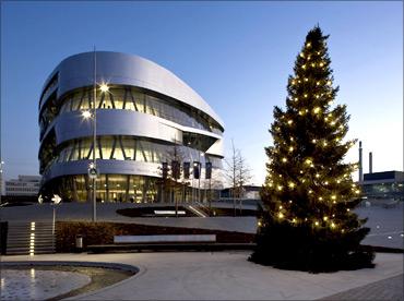 Mercedes-Benz Museum.
