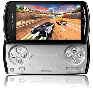 This is a smartphone with gaming capabilities.