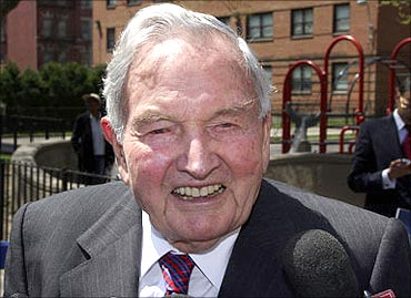 David Rockefeller is said to the major force behind the group.