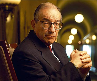 Alan Greenspan has attended meetings.