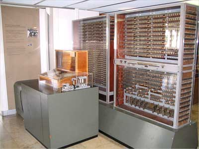 The Zuse Z3, 1941, considered the world's first working programmable, fully automatic computing machine.