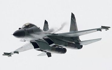 The MiG-29 fighter aircraft.