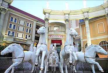 Caesars Atlantic City is the East Coast flagship of Harrah's Entertainment.
