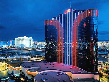 Casino is located off the Las Vegas Strip.