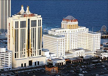 Casino and spa complex was the first to open in Atlantic City.