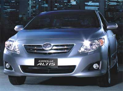 Toyota Corolla Altis.