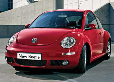 New Beetle from the Volkswagen stable.