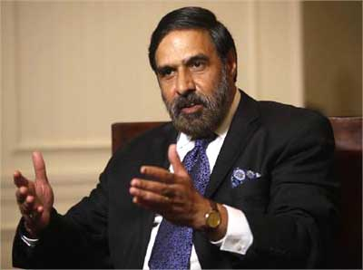 Commerce Minister Anand Sharma.