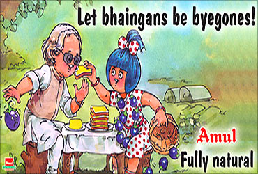 Amul ads reflects current news.