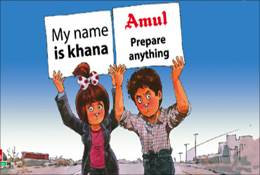 My name is Khan as Amul advt.
