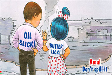 Advt based oil spill.