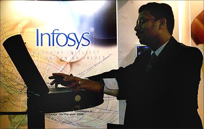Setback for Infosys.