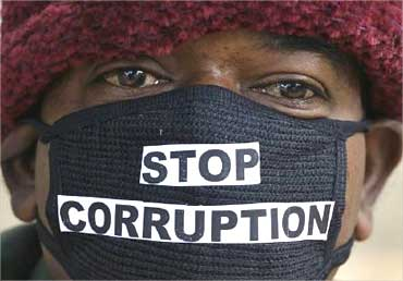 A protest against corruption.