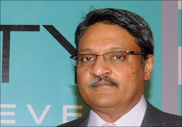 Vinod Goenka, co-promoter of DB Realty.