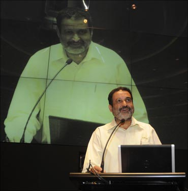 Infosys HR director Mohandas Pai, who announced is decision to quit the company on Friday, April 15, 2011.
