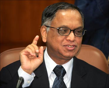 Infosys co-founder, chairman and chief mentor N R Narayana Murthy.
